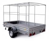 Тенты для прицепов применяются для укрытия грузов при транспортировке. Устанавливаются на специальные каркасы, обеспечивающие прочность конструкции.