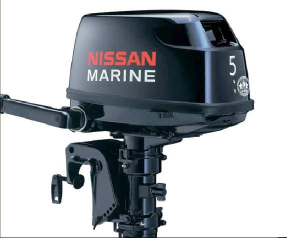 Лодочный мотор Nissan Marine NS 5 B DS, низкая цена, купить с доставкой, интернет магазин