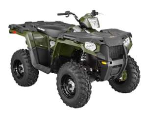 КВАДРОЦИКЛ Sportsman 570 Forest green