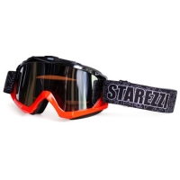 ОЧКИ GOGGLES STAREZZI MX BLACK FLUO ORANGE 156-705