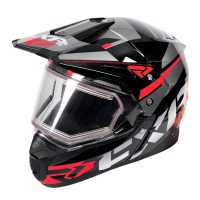 ШЛЕМ FXR Team FX-1 Black/Red/Char XL