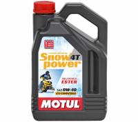 МАСЛО MOTUL SNOWPOWER 4T SAE 0W-40 4*4it