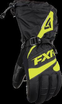 ПЕРЧАТКИ FXR Fuel Black/Hi Vis XL