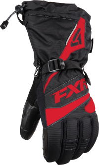 ПЕРЧАТКИ FXR Fuel Black/Red 2XL