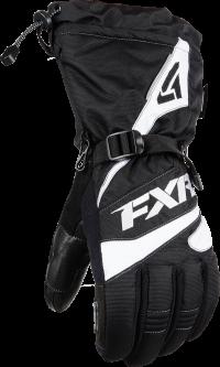 ПЕРЧАТКИ FXR Fuel Black/White M