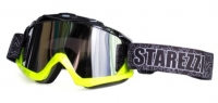 ОЧКИ GOGGLES STAREZZI MX BLACK FLUO YELLOW 156-704