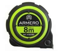 РУЛЕТКА ARMERO 8*25мм С АВТОБЛОКИРОВКОЙ