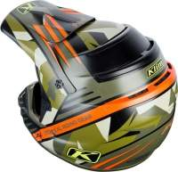 ШЛЕМ F4 Helmet ECE Shattered Green