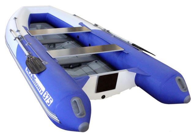 надувная моторная лодка с жестком днищ