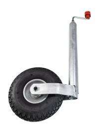 Опорное колесо  ПЛЮС 200 кг (260х85, пневмат. шина), 1222438 (00000000126)