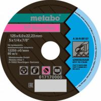 ШЛИФОВАЛЬНЫЙ КРУГ METABO 125.6.0*22.23