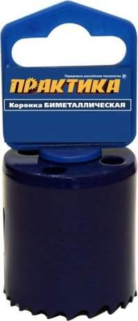 "КОРОНКА БИМЕТАЛЛИЧЕСКАЯ ПРАКТИКА  40 ММ (1 9/16""), (1ШТ), КЛ"