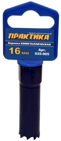 КОРОНКА БИМЕТАЛЛИЧЕСКАЯ ПРАКТИКА  16 ММ (5/8'), (1ШТ), КЛИПС