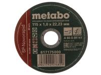 ОТР КРУГ METABO SP-NOVOFLEX 115*1.0*22.2